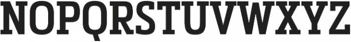 Metronic Slab Narrow SemiBold otf (600) Font UPPERCASE