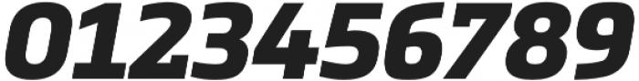 Metronic Slab Pro Black italic otf (900) Font OTHER CHARS