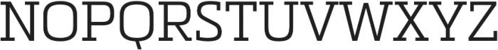 Metronic Slab Pro Light otf (300) Font UPPERCASE