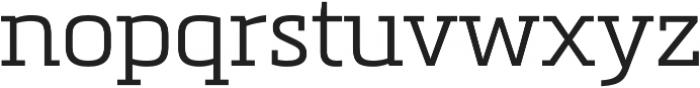 Metronic Slab Pro Light otf (300) Font LOWERCASE