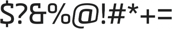 Metronic Slab Pro Regular otf (400) Font OTHER CHARS