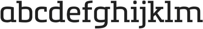Metronic Slab Pro Regular otf (400) Font LOWERCASE