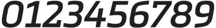 Metronic Slab Pro SemiBold italic otf (600) Font OTHER CHARS