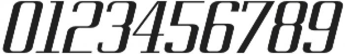 Metropolis Bold Italic otf (700) Font OTHER CHARS