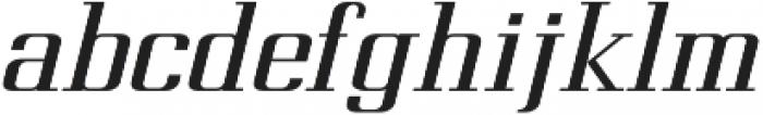 Metropolis Bold Italic otf (700) Font LOWERCASE