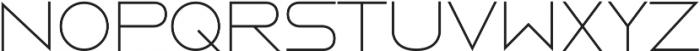 Metros ttf (300) Font LOWERCASE