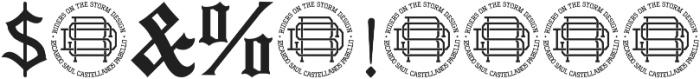 Mexside Vol 4 ttf (400) Font OTHER CHARS
