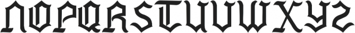 Mexside Vol 4 ttf (400) Font UPPERCASE