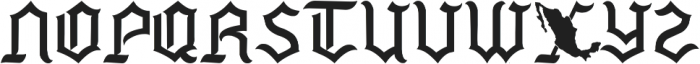 Mexside Vol 4 ttf (400) Font LOWERCASE