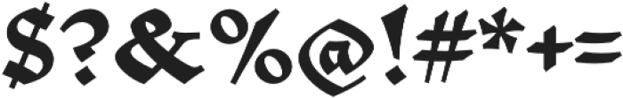 Mezalia Black otf (900) Font OTHER CHARS
