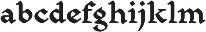Mezalia Black otf (900) Font LOWERCASE