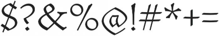 Mezalia Extra Light otf (200) Font OTHER CHARS