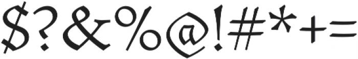 Mezalia Light otf (300) Font OTHER CHARS
