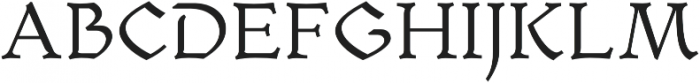 Mezalia Light otf (300) Font UPPERCASE