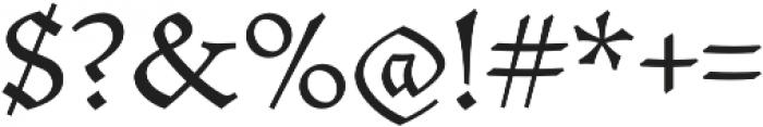 Mezalia otf (400) Font OTHER CHARS