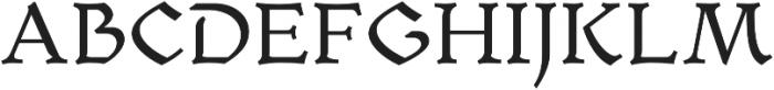 Mezalia otf (400) Font UPPERCASE