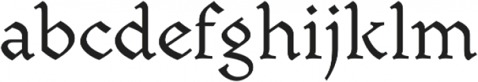 Mezalia otf (400) Font LOWERCASE