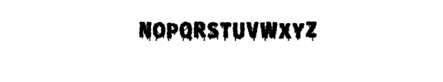 Melt Fill.otf Font LOWERCASE