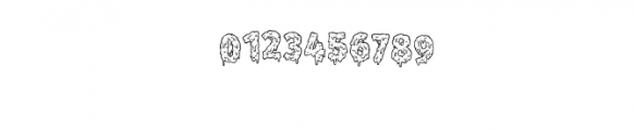 Melt Line.otf Font OTHER CHARS