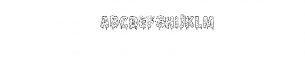 Melt Line.otf Font LOWERCASE