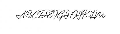 Mentawai Font UPPERCASE