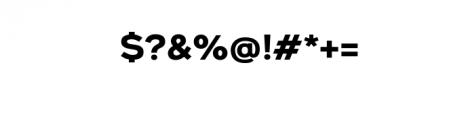 Metrosant-Regular.ttf Font OTHER CHARS