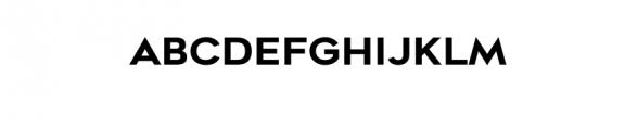 Metrosant-Regular.ttf Font UPPERCASE