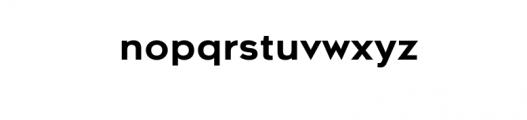 Metrosant-Regular.ttf Font LOWERCASE