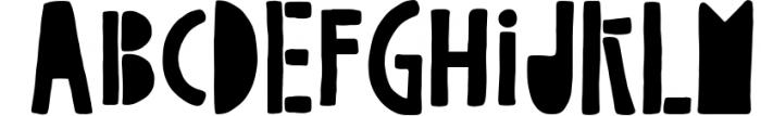 Mega Font Pack - 70% off! 4 Font UPPERCASE