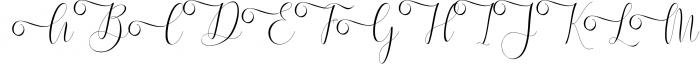 Melamar Calligraphy 1 Font UPPERCASE