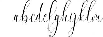 Melamar Calligraphy 2 Font LOWERCASE