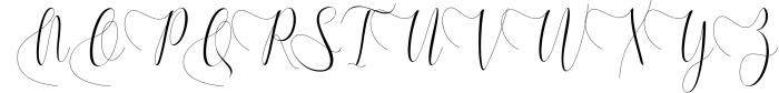 Melamar Calligraphy 3 Font UPPERCASE