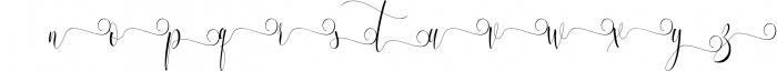 Melamar Calligraphy 3 Font LOWERCASE