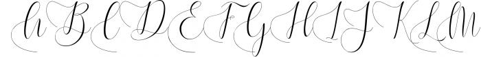 Melamar Calligraphy 4 Font UPPERCASE