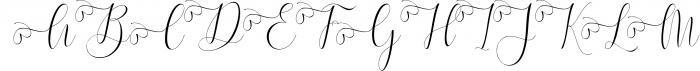 Melamar Calligraphy 5 Font UPPERCASE
