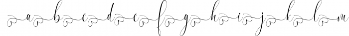 Melamar Calligraphy 5 Font LOWERCASE