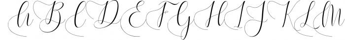 Melamar Calligraphy 6 Font UPPERCASE
