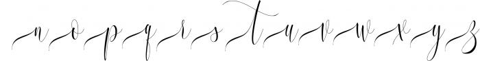 Melamar Calligraphy 6 Font LOWERCASE