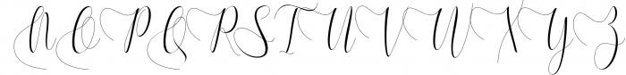 Melamar Calligraphy 7 Font UPPERCASE