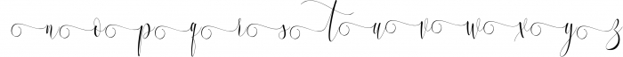 Melamar Calligraphy 7 Font LOWERCASE