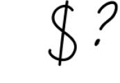 Melissa - hand drawn script font Font OTHER CHARS