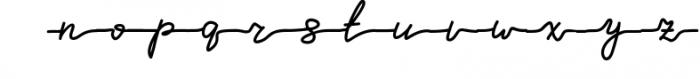 Melissa - hand drawn script font Font LOWERCASE