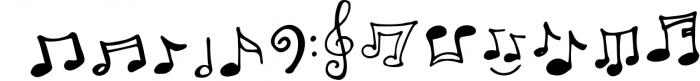 Melody & Lyrics Font UPPERCASE
