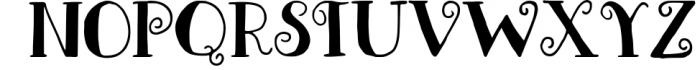 Meredith Font Font UPPERCASE
