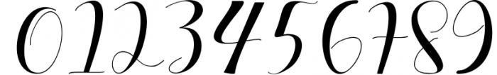 median script Font OTHER CHARS