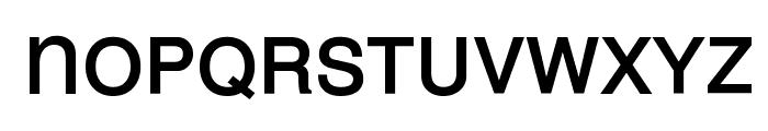 MEAN 26 Sans Font LOWERCASE