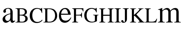 MEAN 26 Serif Font UPPERCASE