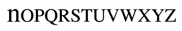 MEAN 26 Serif Font LOWERCASE
