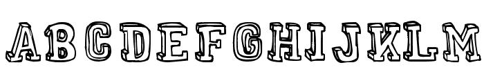 MENTAL FREAK Font UPPERCASE