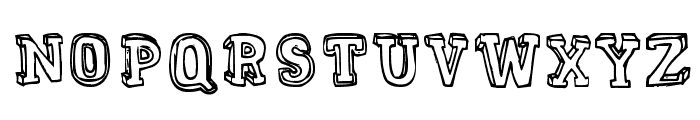 MENTAL FREAK Font LOWERCASE
